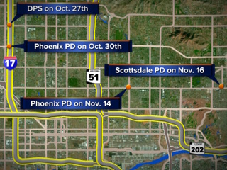 Departments looking into officer-involved wrecks