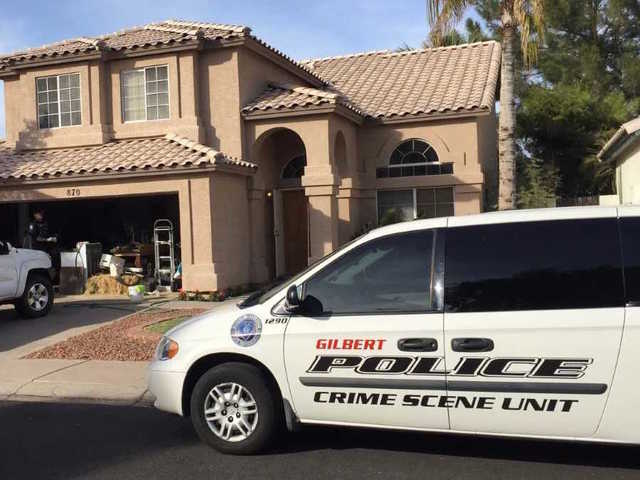 Two found dead inside Gilbert house