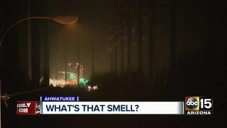 Residents concerned over odd smell in Ahwatukee