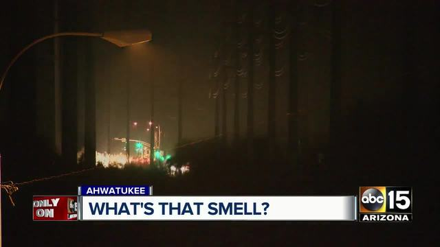 An odd smell in Ahwatukee has residents concerned
