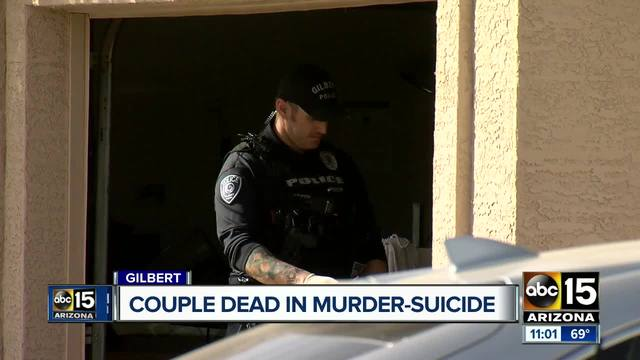 Couple found dead in Gilbert home
