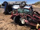FD: Six hurt in rollover crash in Scottsdale