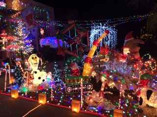 Add your holiday lights display to our map