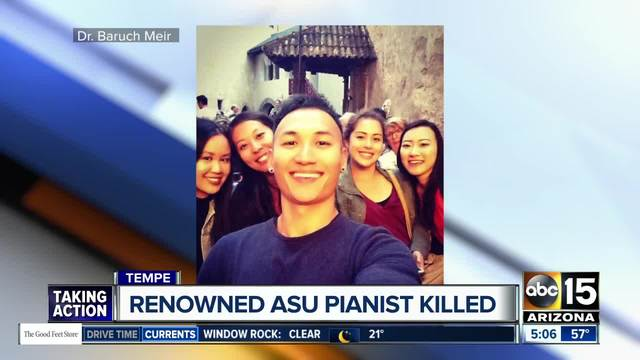 ASU doctoral student- renowned pianist Xiaoying Wen killed in Tempe crash