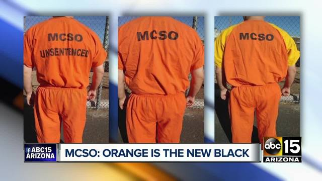 Sheriff announces uniform change in MCSO prisons