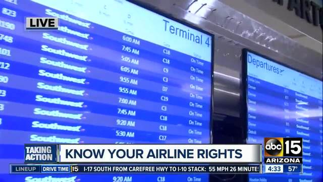 Know your rights if your flight is delayed or canceled