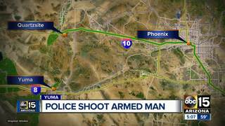 Man dead after officer-involved shooting in Yuma