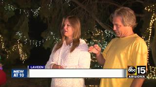 Laveen couple puts up lavish Christmas display