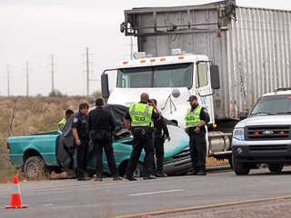 DPS: 3 people dead after SUV, semi-truck crash