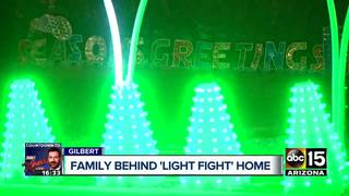 Local Christmas display airs on 'Light Fight'