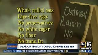 Get guilt-free desserts for half off!