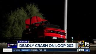 Driver killed in crash on L-202 at Gilbert Road