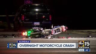 PD: Driver strikes 2 motorcycles, flees scene