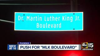 PHX City Council considering MLK signage change