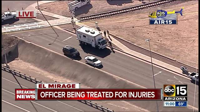 Officer injured in police incident in El Mirage