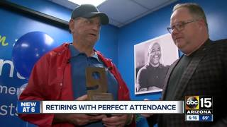 Valley man retires with 45 years at Goodwill