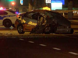 PD: Taxi driver killed in south Phoenix crash