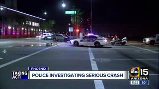 PD: 2 hospitalized after wrong-way crash in PHX