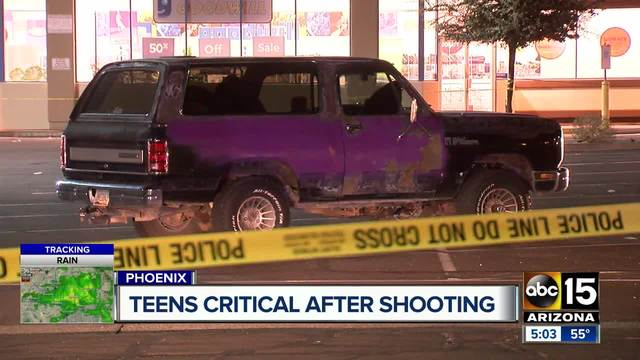 Man shoots teens after being assaulted in PHX