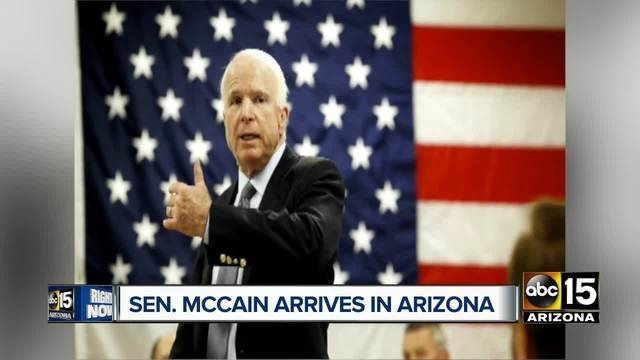 McCain to miss tax reform vote, heading to Arizona to recover