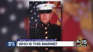 Man finds Marine photo, looks for owner