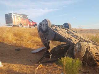 FD: Man injured after car crashes into trailer