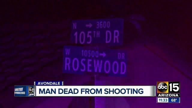Avondale pd man found shot and killed inside vehicle for Avondale motor vehicle division avondale az