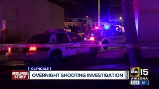 PD: Man seriously hurt after Glendale shooting
