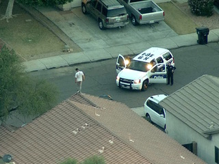 Police detain man on Avondale roof