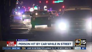 PD: Teen struck and killed by car in Phoenix