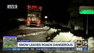 Flagstaff schools delayed Wednesday after snow