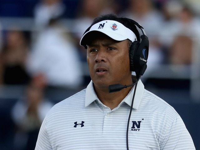 Navy's Niumatalolo pulls out of Arizona job hunt