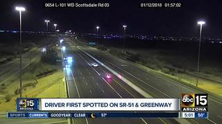 VIDEO: Wrong-way driver stopped on L-101