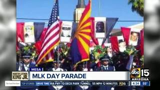 Mesa hosting Martin Luther King Jr. Day parade
