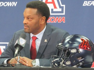 New UA coach Sumlin has sights set on Rose Bowl