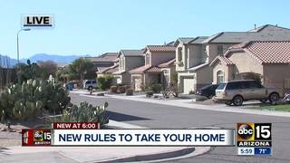 New bill would speed up HOA foreclosures in AZ