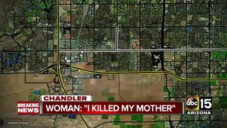 PD: Chandler woman strangles mother