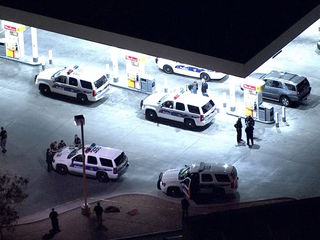 Police shoot, kill suspect at PHX gas station