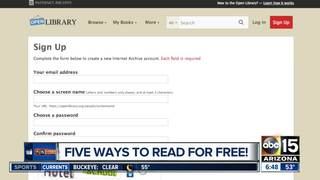 6 places to find FREE E-books!