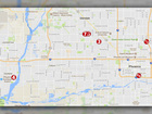 MAP: Cooksey serial murder locations, details