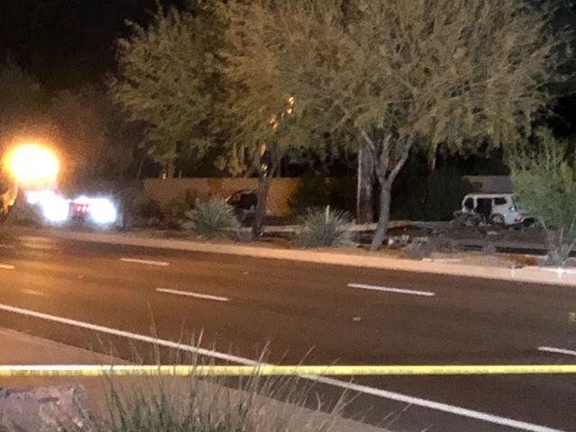Driver Dead After Crash Along Scottsdale Road On Thursday Morning.