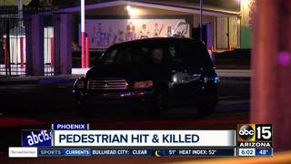 Woman hit, killed while crossing Phoenix street