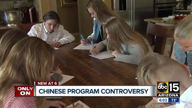 Chinese program controversy at Valley school district