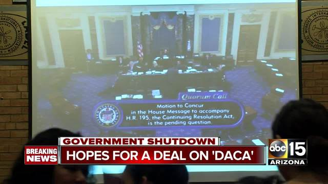 Federal Government shuts down after Senate fails to pass stopgap bill