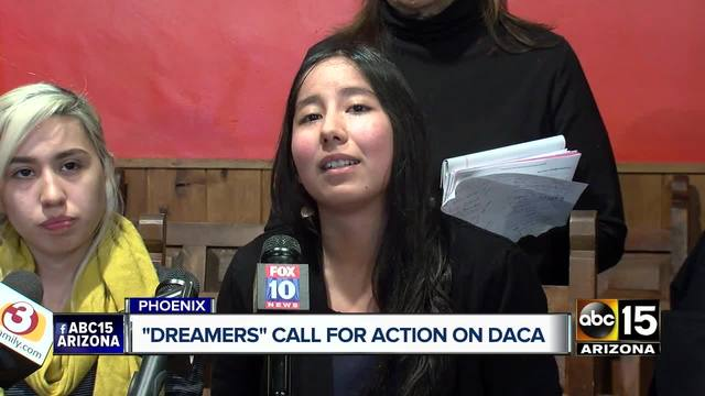 Arizona dreamers call for action on DACA