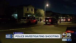 PD: 2 shot in south Phoenix, 1 detained