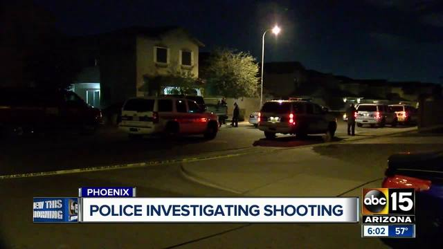 Shooting investigation underway in south Phoenix