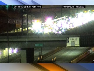 DPS: 4 vehicle crash sends 3 to hospital in PHX