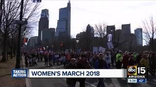 7 Women's Marches scheduled around Arizona today