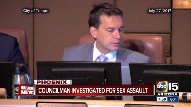 Tempe Councilman under investigation for sexual assault